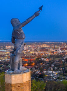 Vulcan Statue in Birmingham, AL